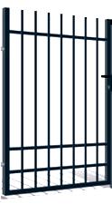 Nice gånggrind (W6449) Mått (BxH): 1x1,5m Kulör: Svart 2:a-sort visningsmodell Nu: 900kr Stolpar tillkommer Finns 1st